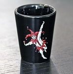 Haunted Casinos Shot Glass,(Joker)